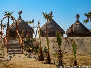 beach, nature, architecture
