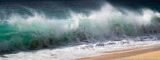Ocean, wave, beach, nature