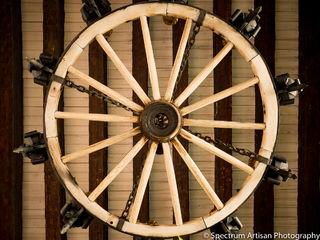 wagon, wheel, light, AZ
