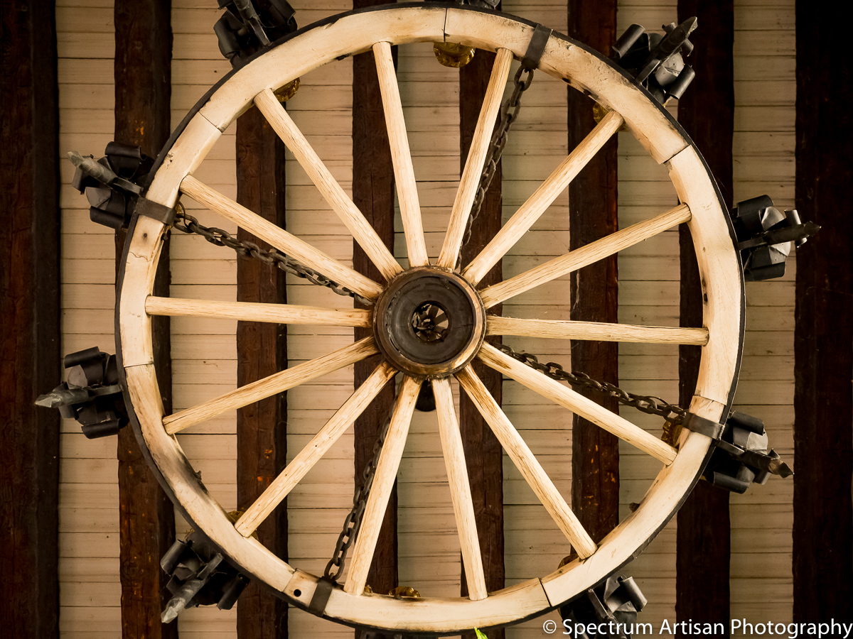 Southwest wagon wheel light
